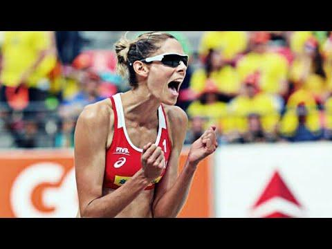 サラ・パバン(バレー)の画像。カナダの選手でビーチバレーも挑戦