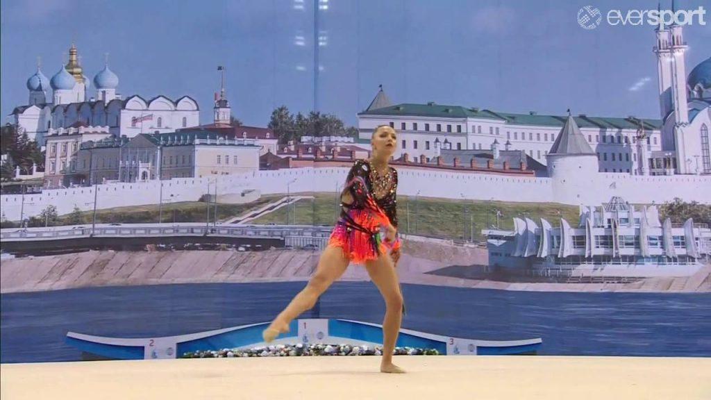 メリティナ・スタニウタ(新体操)の画像。ベラルーシの美女アスリート