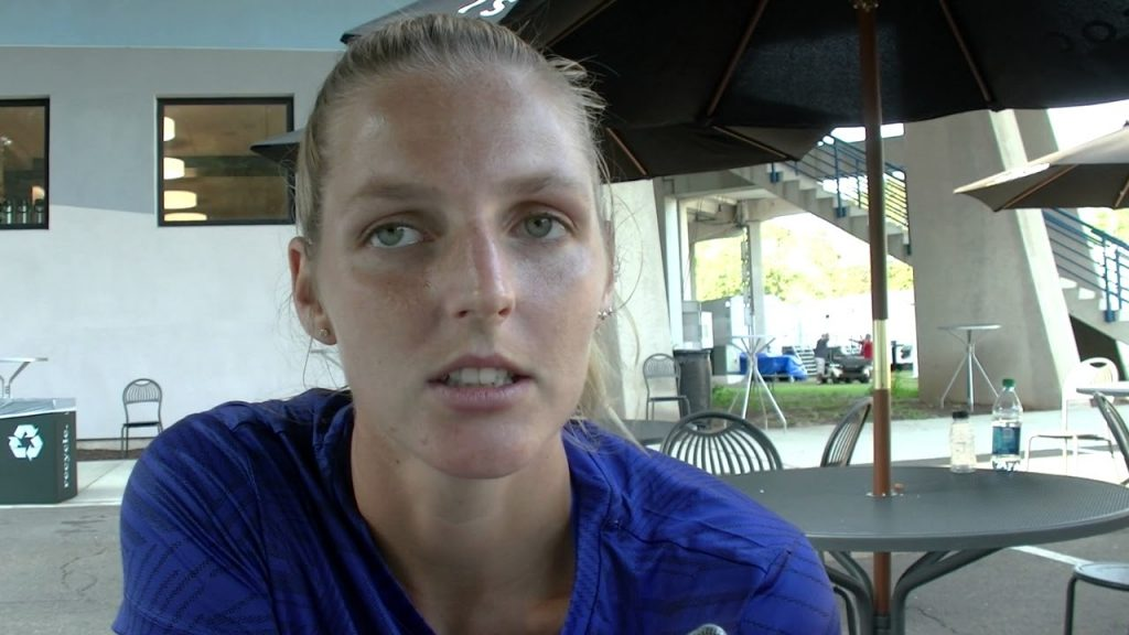 クリスティナ・プリスコバの画像。チェコの美人テニスプレーヤー