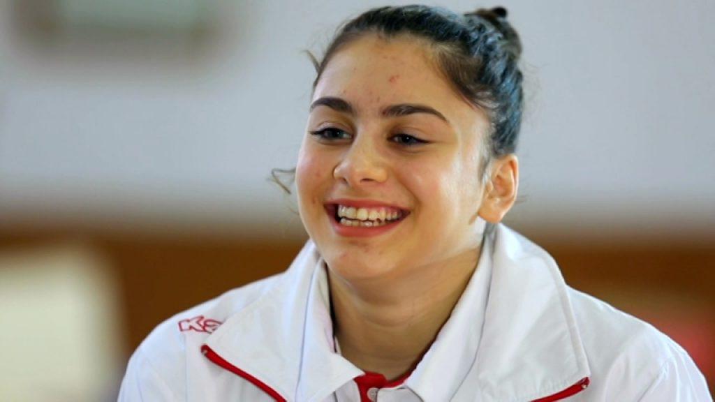 ツチャ・ユルマズの画像まとめ。トルコのかわいい体操選手