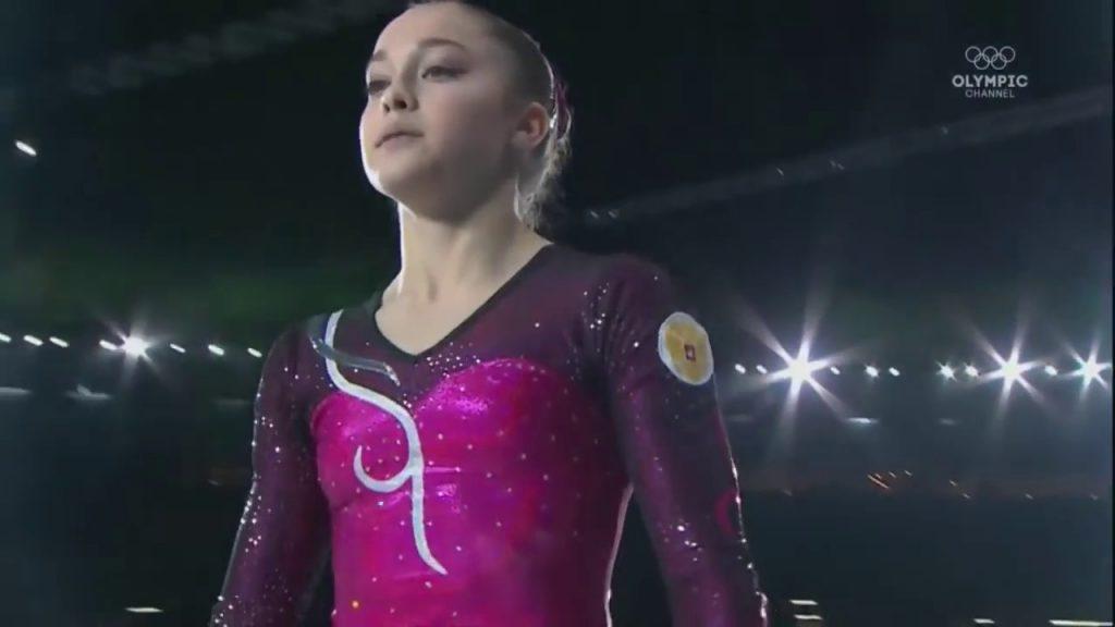 エレーナ・エレミナの画像がかわいい。ロシアの美人体操選手