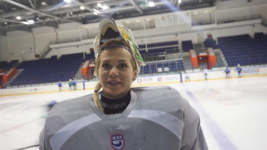 アンナ・プルゴワの画像がかわいい。ロシアの美人アイスホッケー選手