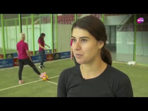 ソラナ・チルステアのインスタ画像。ルーマニアの美人テニス選手