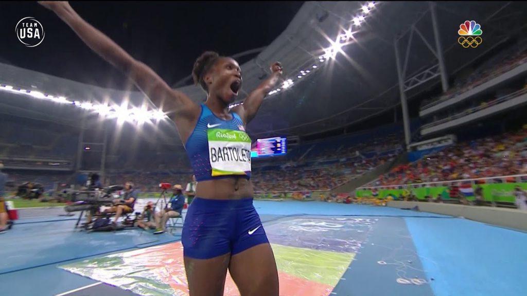 ティアナ・バートレッタ(陸上)の画像。アメリカの走幅跳&短距離選手