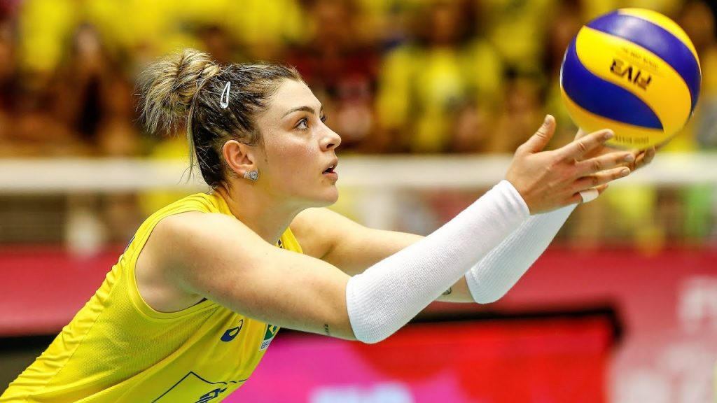 ロザマリア・モンチベレルの画像。バレーブラジル代表の美人選手