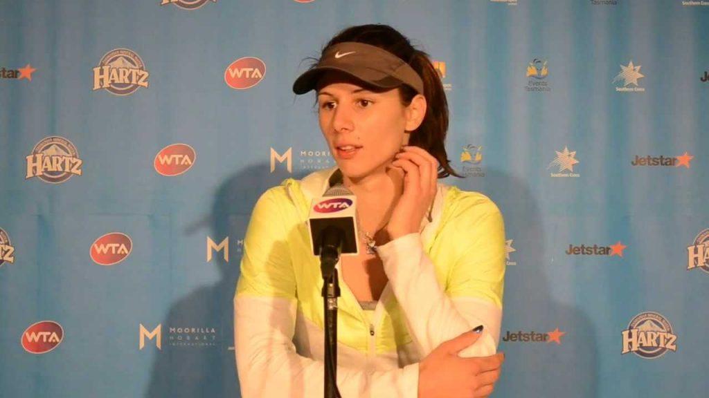ツベタナ・ピロンコバの画像。モデル級の美人テニスプレーヤー