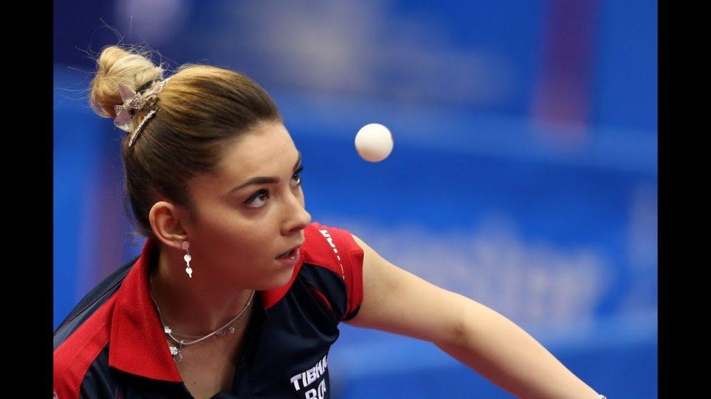 ベルナデッテ・スッチの画像がかわいい。ルーマニアの美人卓球選手