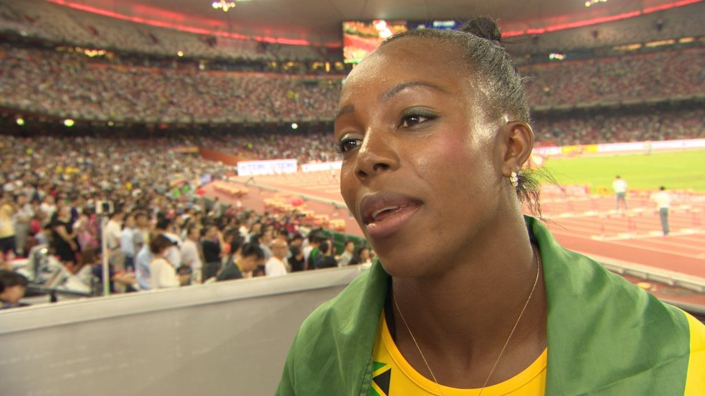 ベロニカ・キャンベル=ブラウンの画像。ジャマイカの短距離女王