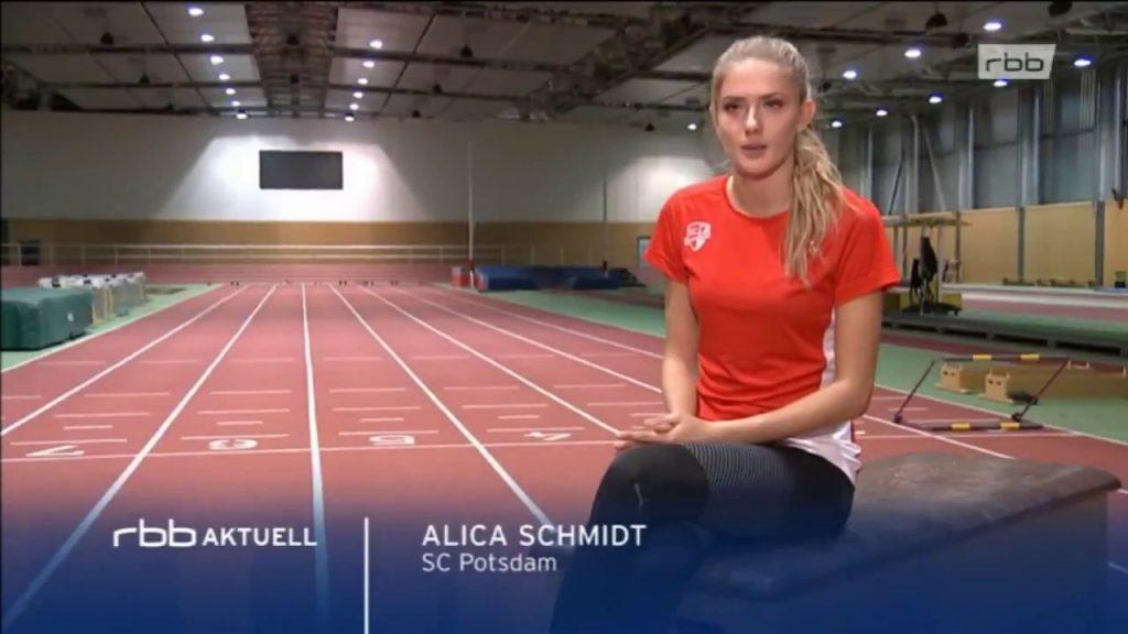 アリカ・シュミットのインスタ画像がかわいい。ドイツの美人陸上選手