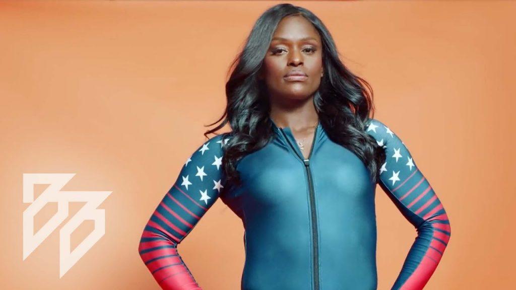 アジャ・エバンスのインスタ画像まとめ。アメリカのボブスレー美人選手