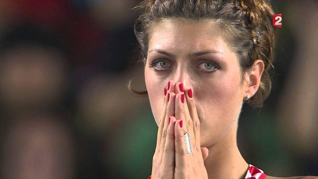 ブランカ・ブラシッチの画像。走高跳のクロアチア記録保持者。美人ジャンパー