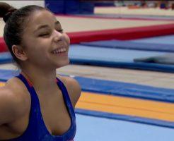 41228 246x200 - フラビア・サライバの画像がかわいい。ブラジルの美人体操選手