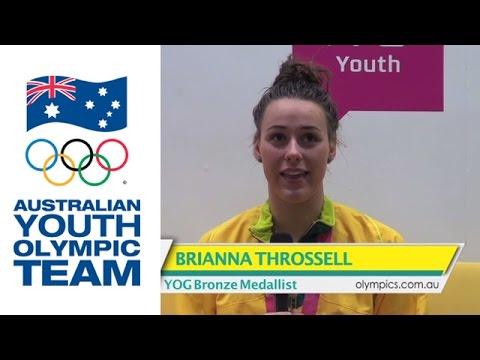 ブリアナ・スロッセルの画像がかわいい。オーストラリアの美人競泳選手