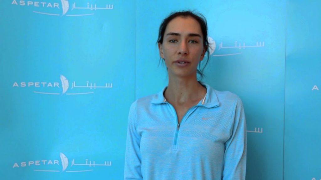 アナスタシア・ピヴォヴァロヴァの画像。ロシアの美人テニス選手