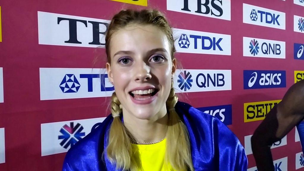 ヤロスラワ・マフチクの画像がかわいい。ウクライナの美人走高跳選手